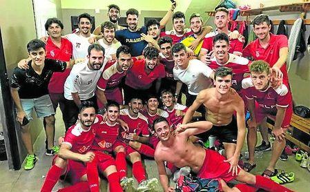 El Antoniano celebra por victorias sus partidos en casa.