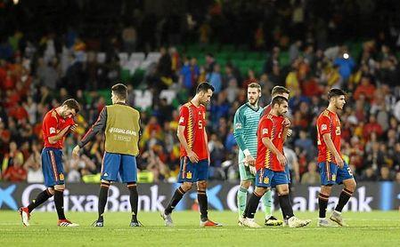 España se fue del Benito Villamarín sin puntuar.