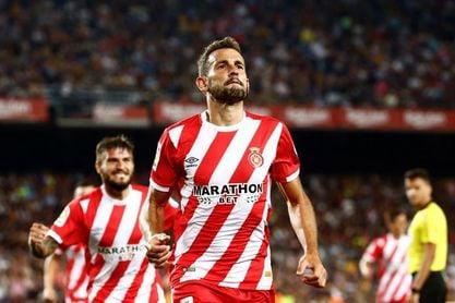 Stuani, máximo goleador de LaLiga, no ha marcado nunca en Anoeta