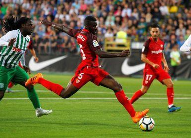Amadou volvió al trabajo del grupo y Kjaer lo hará el miércoles