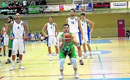Una imagen del CB Prat-Betis Baloncesto.