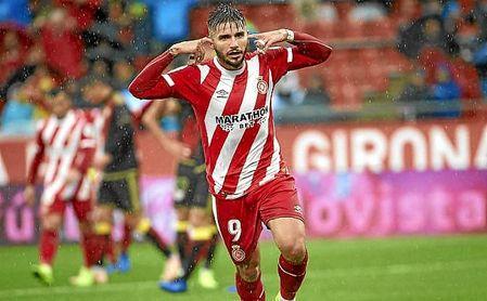 Portu celebra su gol al Rayo en la jornada 10 de LaLiga.
