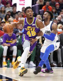 117-102. Mitchell y Jazz superan a Mavericks y cortan racha perdedora