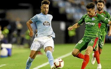 """El jugador del Celta se ha mostrado """"muy ilusionado""""."""