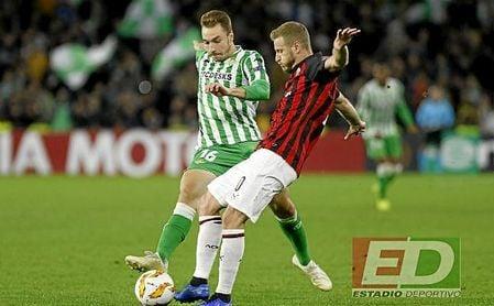 Encuentro entre Betis y Milan en Europa League.