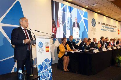 París 2024 y Los Ángeles 2028 presentan sus proyectos a los Comités Europeos