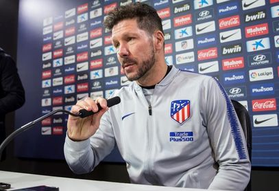 "Simeone: ""Diego Costa quiere estar"""