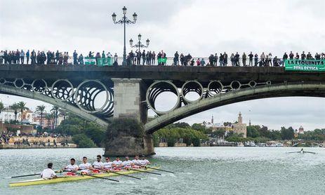 Supremacía total bética con pleno de triunfos en la 52 regata Sevilla-Betis