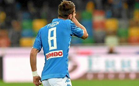 Fabián está ganando cada vez más peso en el once titular del SSC Napoli.