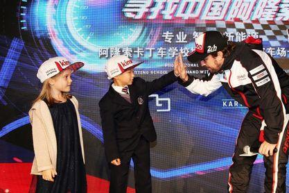 En busca del Fernando Alonso chino