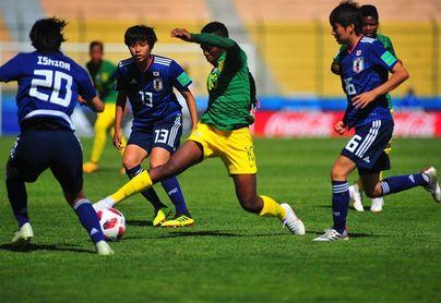 Japón vence a Sudáfrica por 6-0 y es la primera selección que anota 100 goles