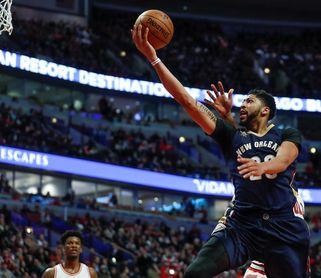 129-104. Davis logra doble-doble en la victoria de los Pelicans