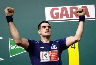 Ezkurdia, campeón del Cuatro y Medio al derrotar a Altuna 17-22 en Pamplona
