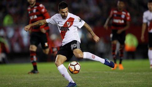 Scocco se pierde la final de la Copa ante Boca por lesión.
