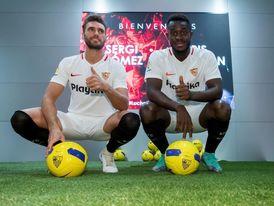 El francés Gnagnon por Sergi Gómez, única novedad del Sevilla para Lieja