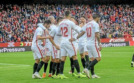 El Sevilla es líder de LaLiga en solitario gracias a una media inglesa que le ha llevado a firmar 26 puntos de 39 posibles.