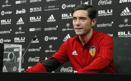 """Marcelino ve """"normal mirar al Sevilla"""" y que ya verán si van a """"tope"""" en Copa"""