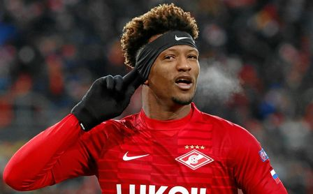 Zé Luís, delantero del Spartak de Moscú.
