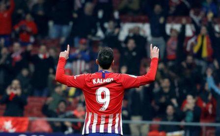 4-0. El Atlético golea y resuelve el pase en el segundo tiempo