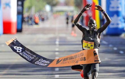 La IAAF ratifica el récord del mundo de Abraham Kiptum logrado en Valencia