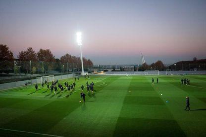 River Plate realiza una sesión suave de entrenamiento en Madrid