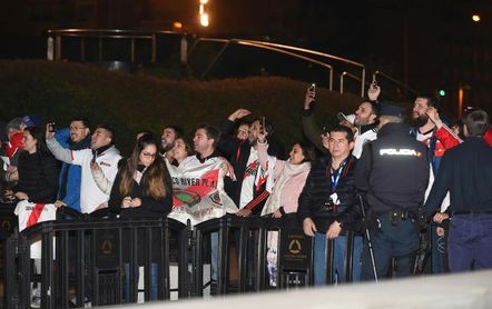 River Plate ya descansa en su hotel de Madrid
