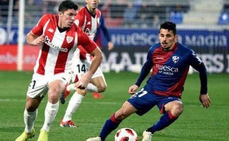 0-4. El Athletic golea al Huesca en el debut de Gaizka Garitano