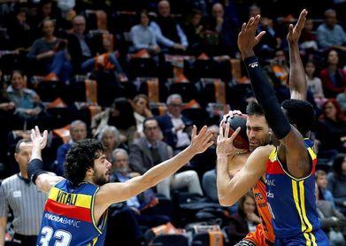 91-72. Un vendaval de defensa y contraataque de Valencia barre al Andorra