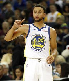 95-105. Curry y Thompson ayudan a los Warriors a ganar el duelo de líderes ante Bucks