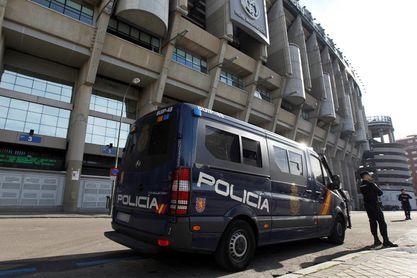 Cortes en la Castellana y entorno al Bernabéu por la final de la Libertadores
