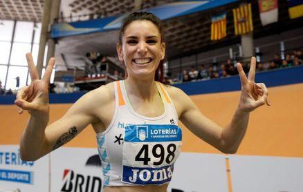 Laura Bueno bate el récord de España de 500 m bajo techo con 1:11.33