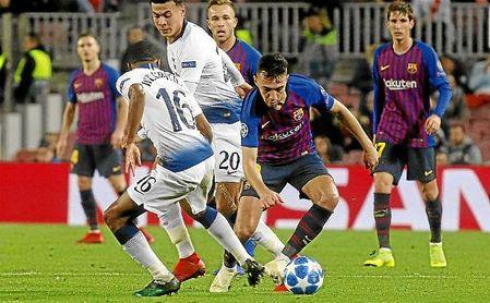 El barcelonista Munir acaba contrato el próximo mes de junio.