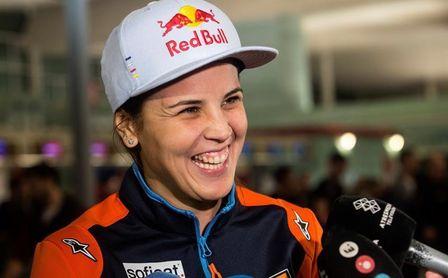 Laia Sanz busca en su noveno Dakar seguir con su récord de cero abandonos