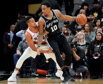 107-119. Ante los Pistons, DeRozan, con 26 puntos, da los Spurs su cuarto triunfo consecutivo