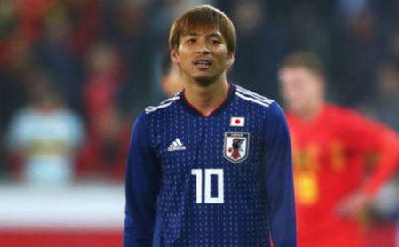 Inui ve desde el banquillo el triunfo de Japón en la Copa Asia