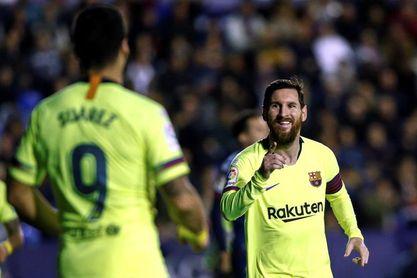 Messi, Luis Suárez, Piqué, Alba y Rakitic no viajan a Valencia