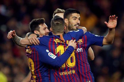3-0. El Barcelona cierra la primera vuelta con un triunfo contra el Eibar