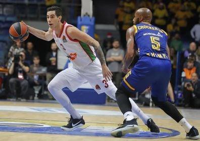 Luca Vildoza, mejor jugador latinoamericano de la 16ª jornada