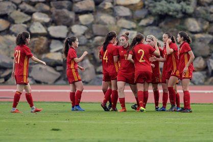 3-0. España vence con comodidad a Eslovaquia primer partido de semifinales
