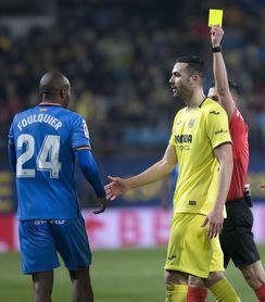 Rechazado el recurso del Getafe por Foulquier y sanción a nueve jugadores
