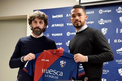 El venezolano Yangel Herrera llega cedido al Huesca por el Manchester City