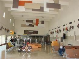 Sala de embarque del Aeropuerto de Sevilla