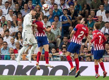 El derbi Atlético-Real Madrid, el sábado 9 de febrero a las 16.15