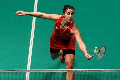Carolina Marín pierde la final ante la tailandesa Intanon