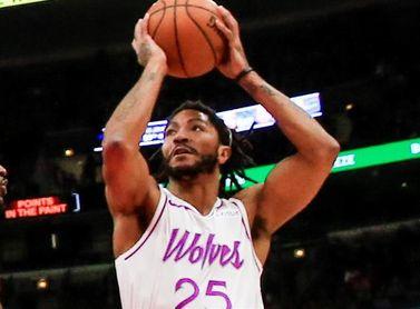 116-114. Derrick Rose sella la victoria de los Timberwolves ante los Suns