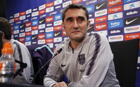 Valverde comparece en rueda de prensa.