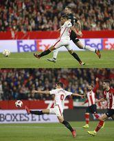 Ben Yedder saber hacer goles con ambas piernas.