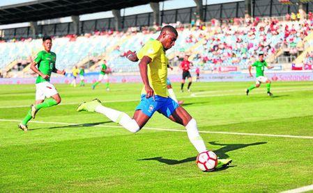Emerson Aparecido Leite de Souza Jr. es fijo en Brasil sub 20.