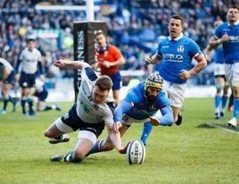 Inglaterra asalta Dublín y Escocia gana fácil a Italia