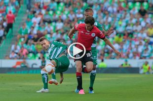 Así juega Mauro Lainez, el hermano de Diego